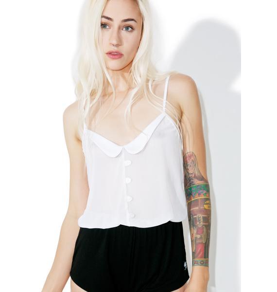 Wildfox Couture Logo Collar Romper