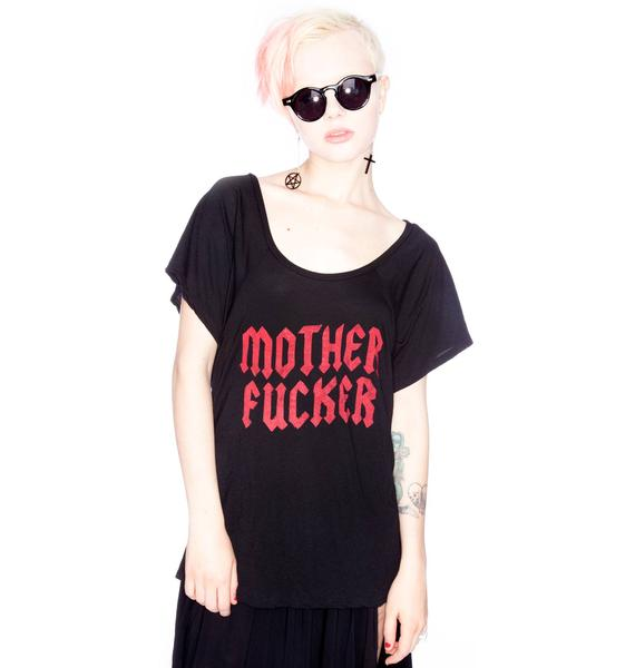 Motherfucker Flow Sleeve Tee