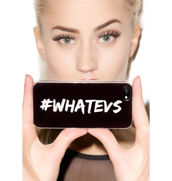 Zero Gravity #Whatevs iPhone 5/5S Case