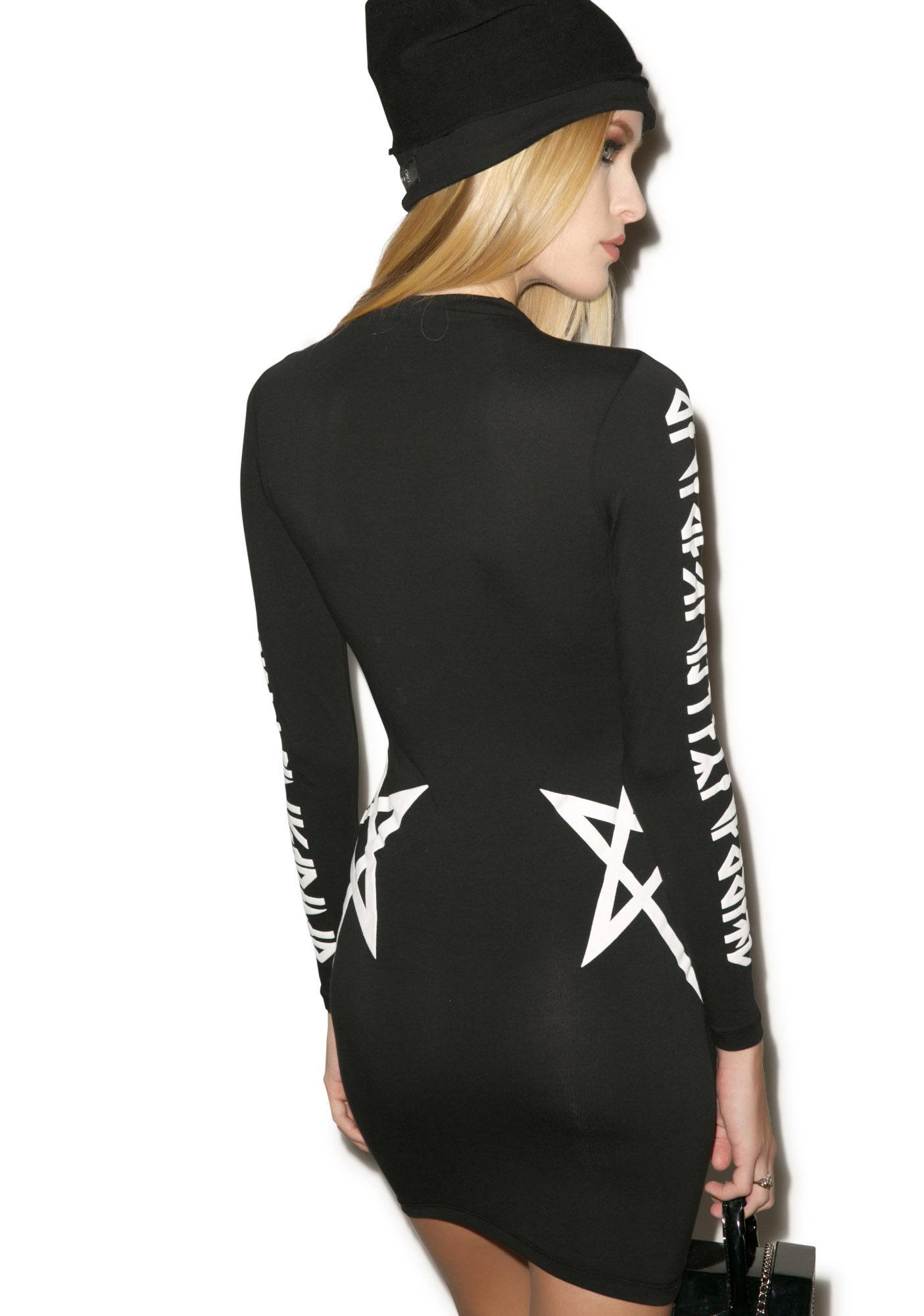 Long Clothing Hexagram Dress