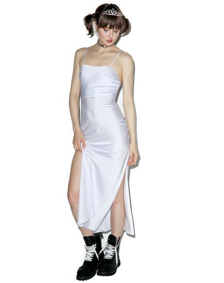 Lilac Gold Digger Long Slip Dress