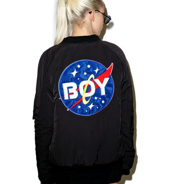 BOY London Boy Space Bomber Jacket