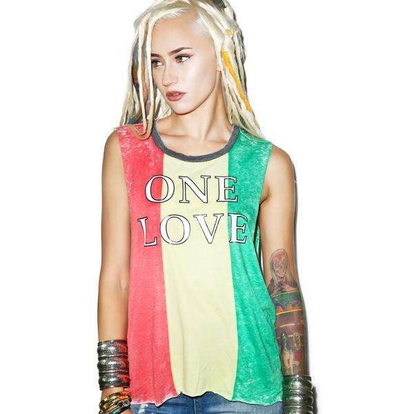 Chaser One Love Muscle Tee