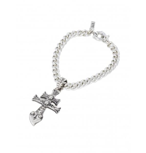 Vanessa Mooney New York Dolls Silver Bracelet
