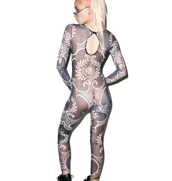 Go Baroque Tattoo Bodysuit
