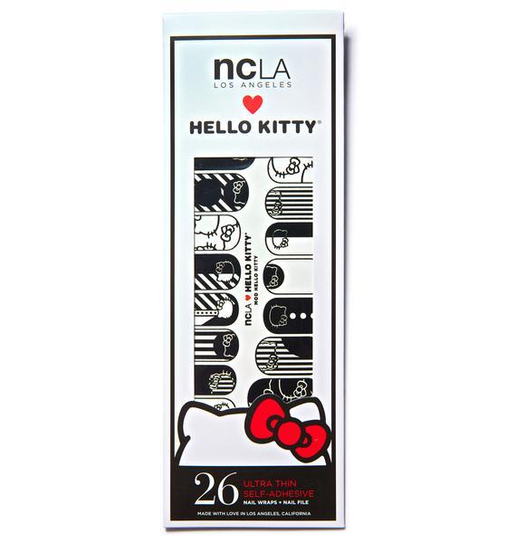 NCLA Mod Hello Kitty Nail Wraps