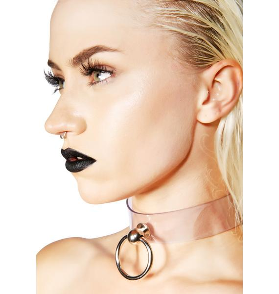 Club Exx Clearly In Charge Choker