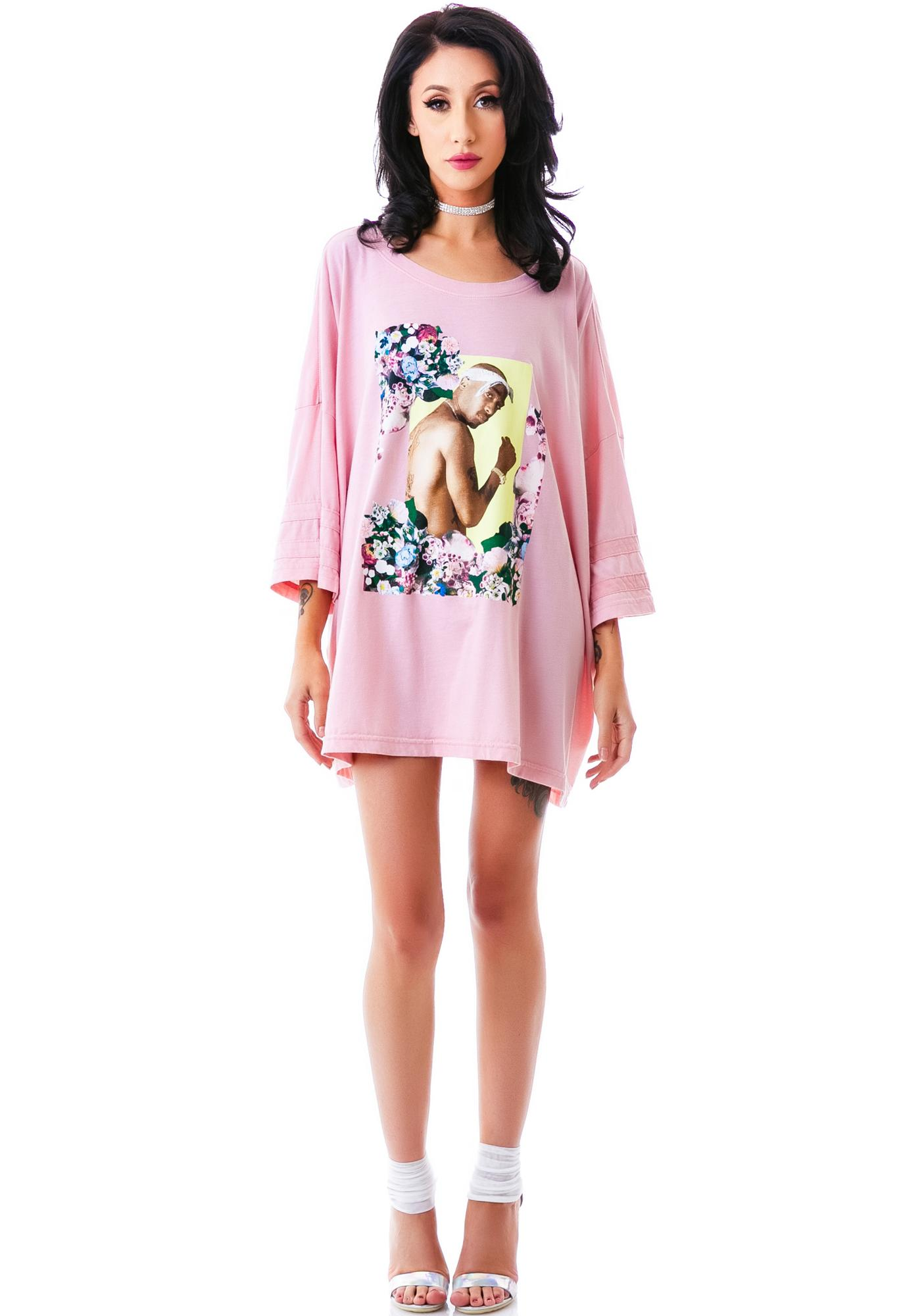 Dimepiece Gangster Chic Oversized Tee