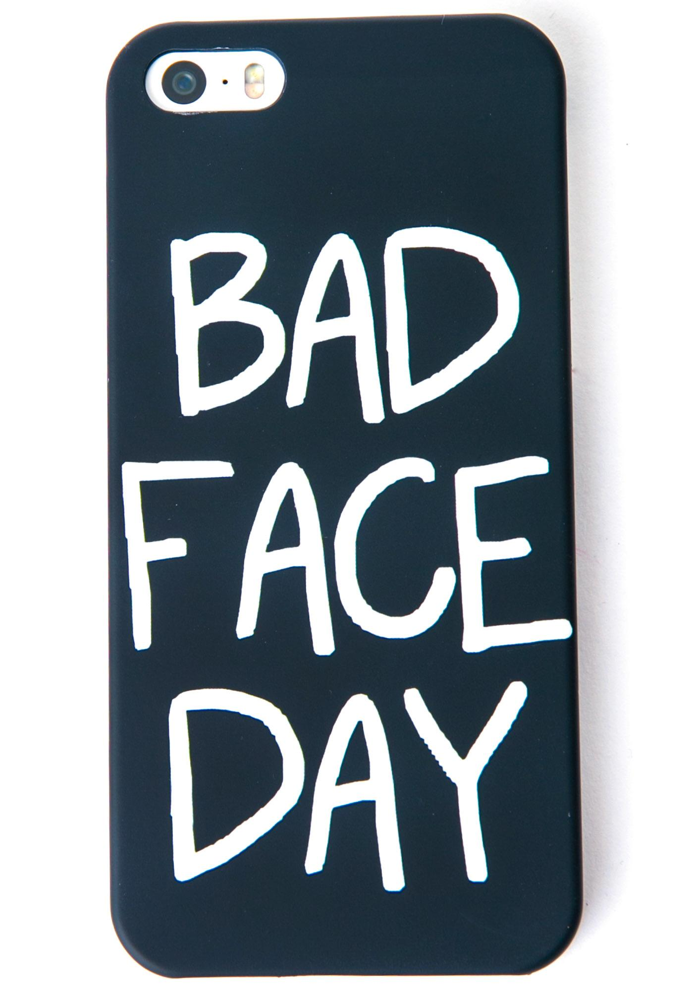 Local Heroes Bad Face Day iPhone 5 Case