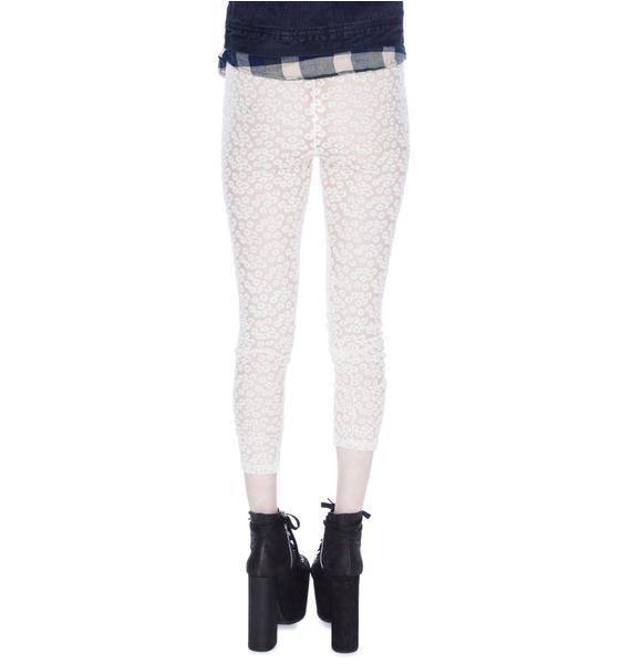 Daisy Lace Leggings