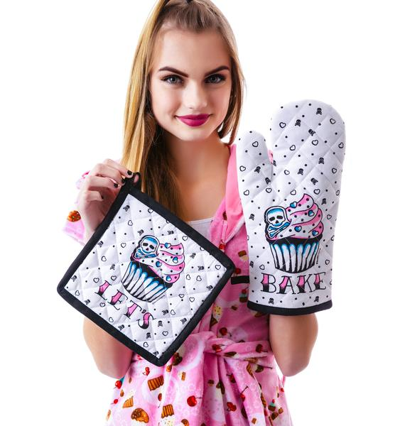 Sourpuss Clothing Let's Bake Kitchen Set