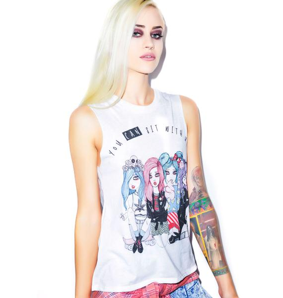 Valfré You CAN Sit With Us Muscle Tee