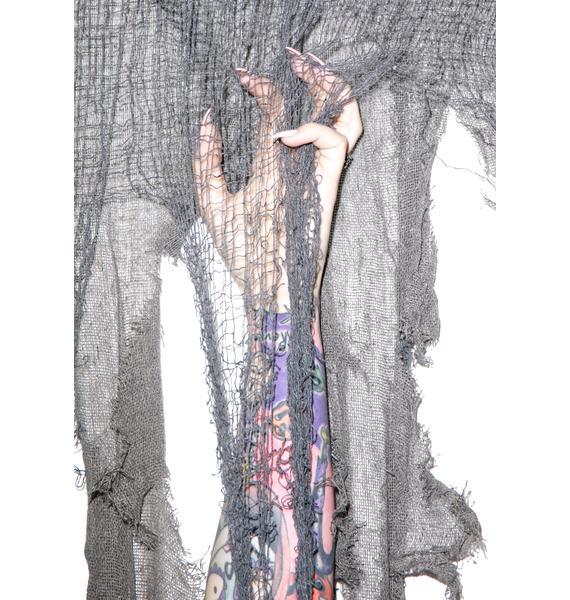 Haunted House Curtain