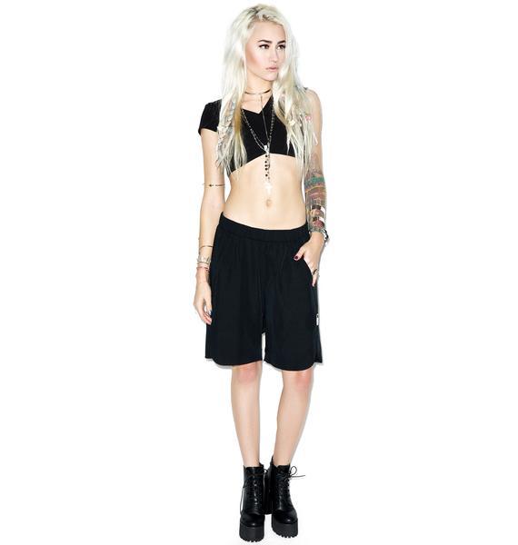 One Teaspoon La Ruby Slouch Shorts