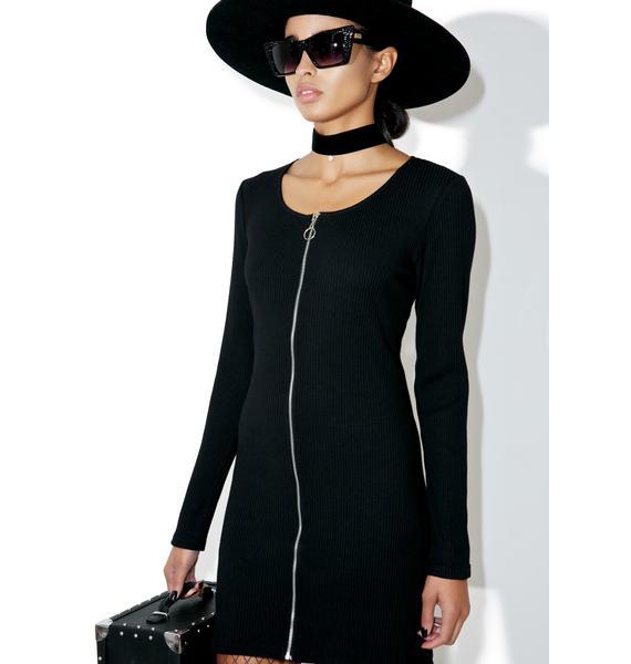 Glamorous Hidden Eve Zipper Dress