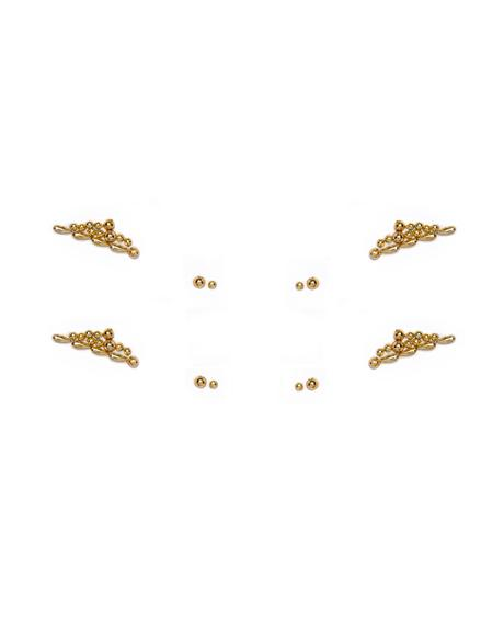 Gold Sphinx Face Jewels