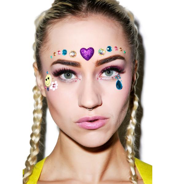 Wicked Hippie Love Face Jewelz