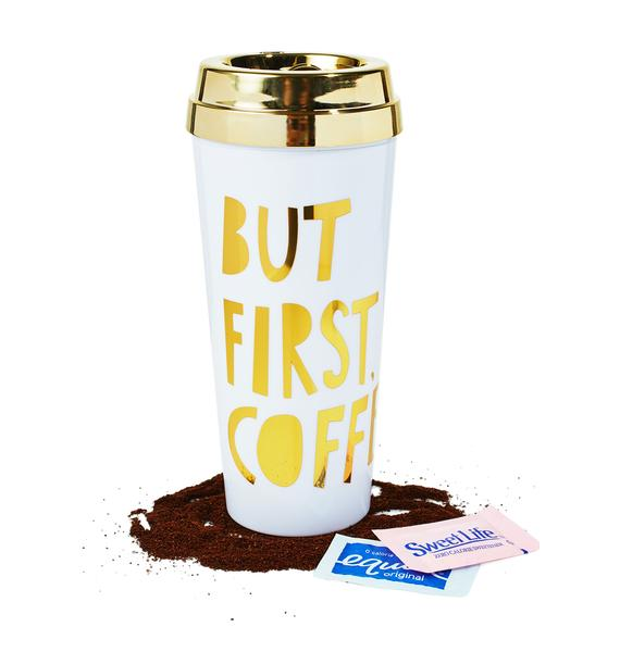 But First, Coffee Thermal Mug