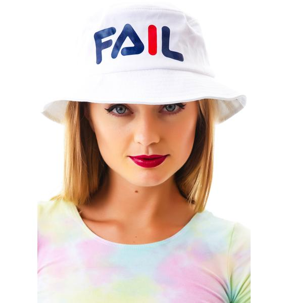 Petals and Peacocks Fail Hat