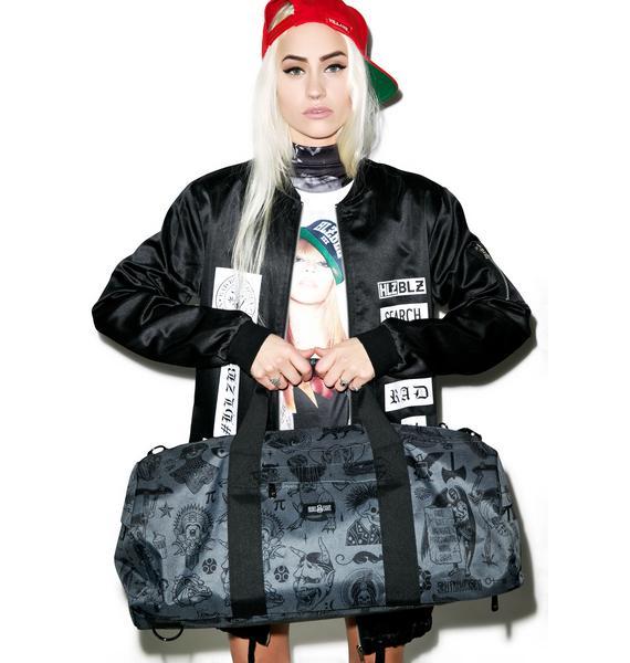 Rebel8 Giant Flash Duffle Bag
