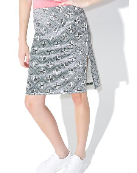 Vortex Midi Skirt