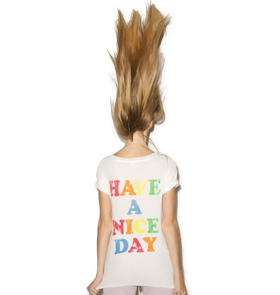 Rebel Yell Have a Nice Day Tee Shirt