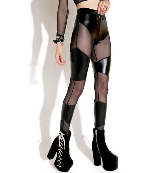 Draco Cut-Out Leggings