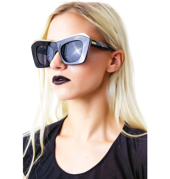 Mink Pink The Villain Sunglasses