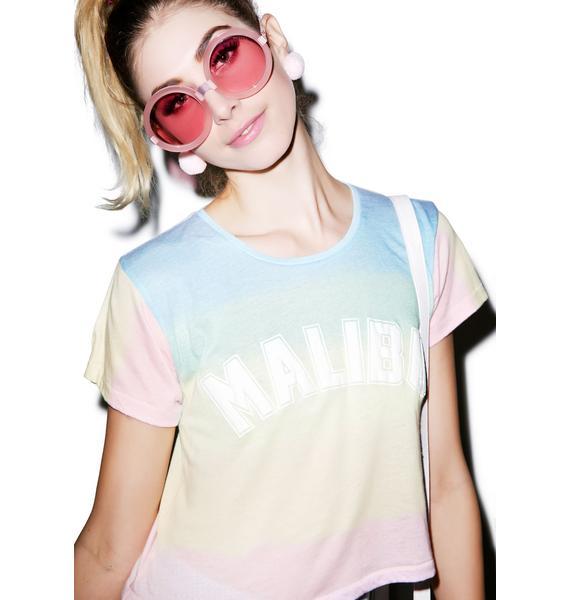 Wildfox Couture Malibu Sunscreen Scented Crop Top