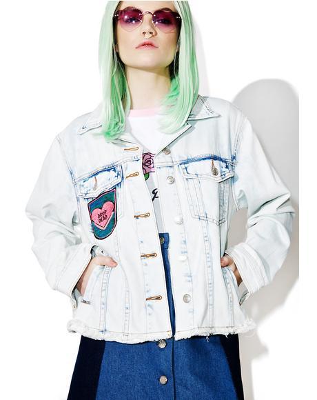 Mystic Maiden Denim Jacket
