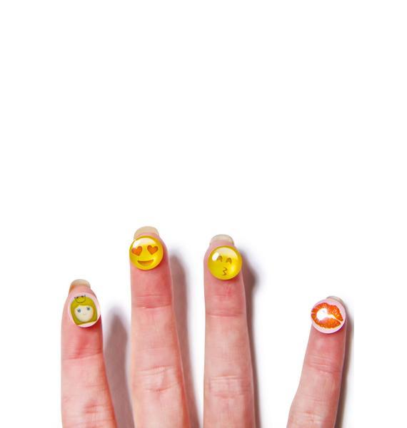 Cute Emoji Home Buttons