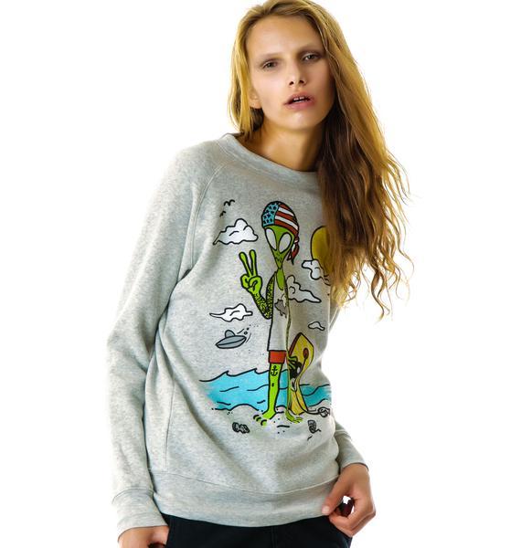Glamour Kills Locals Only Sweatshirt