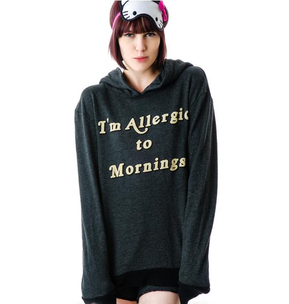 Wildfox Couture Morning Allergies Pullover Hoodie