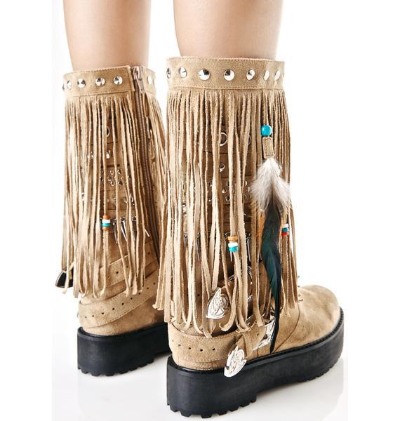 Current Mood Sedona Wedge Boots