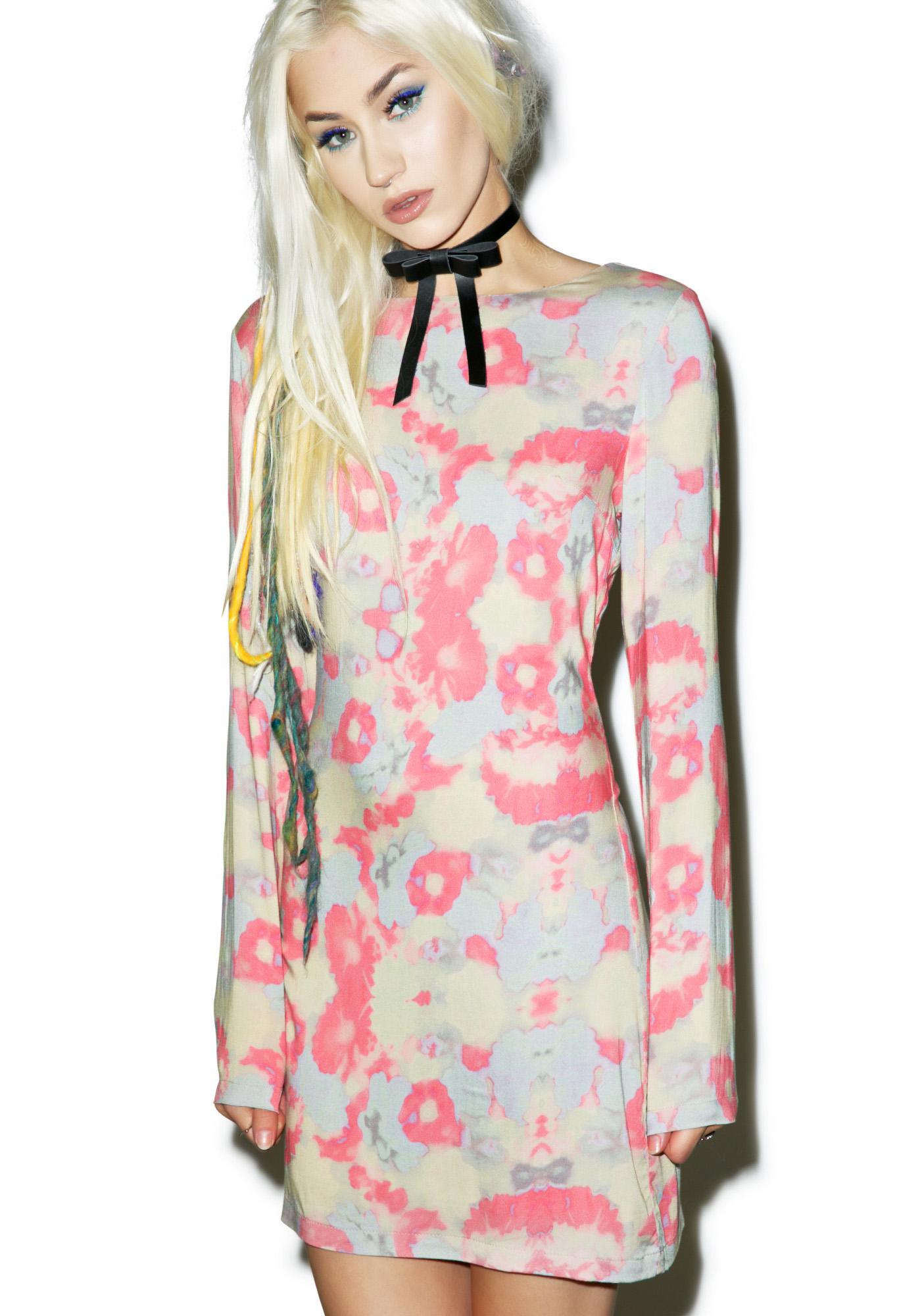 Insight Noni Melted Flower Dress