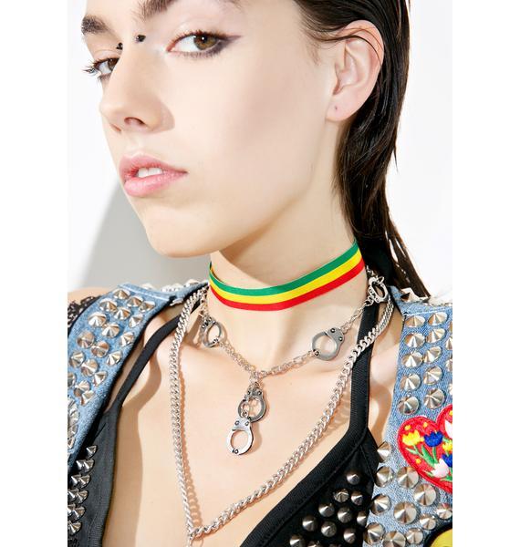 Trixy Starr Rasta Choker