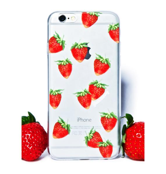 Yeah Bunny Strawberry Fields iPhone 6 Case