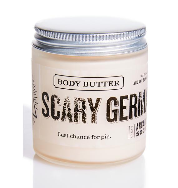 Arcane Bunny Society Scary German Guy Body Butter