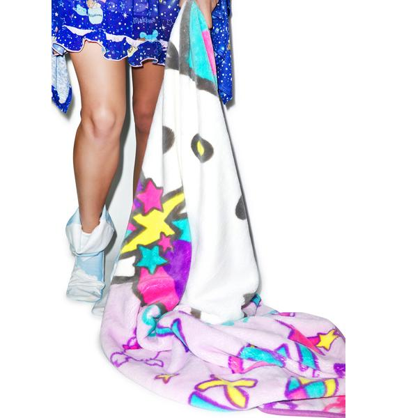 Sanrio Pastel Pop Hello Kitty Blanket