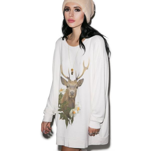 Wildfox Couture Roadtrip Forest Friend Sweater