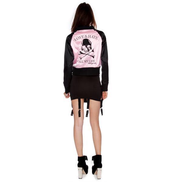 Love & Hate Bomber Jacket