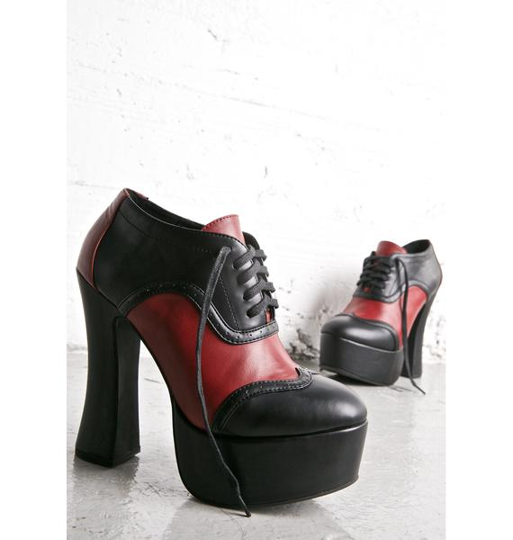 Current Mood Eleanore Oxford Platforms