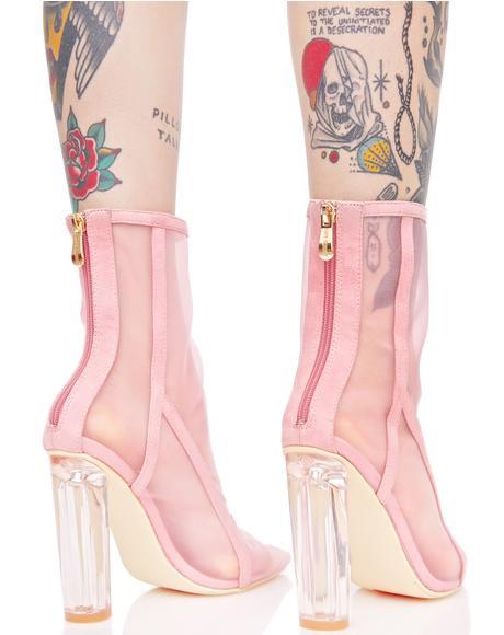 Pallas Mesh Boots