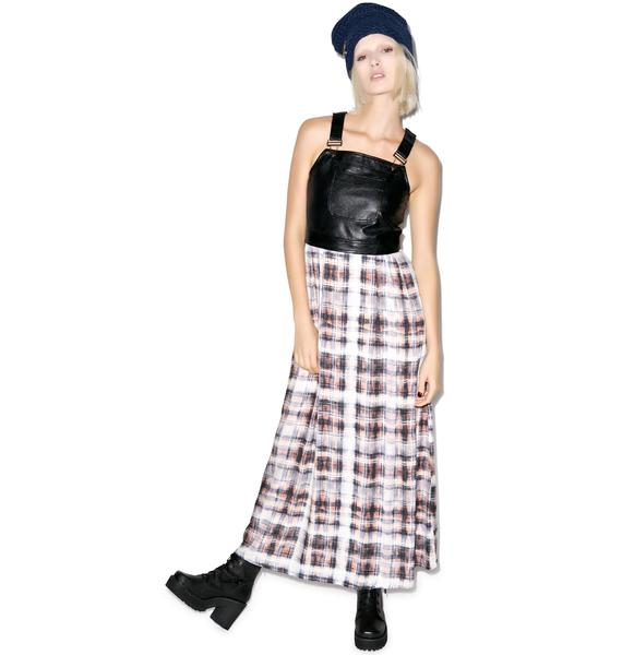 Evil Twin Faded Glory Pinnie Maxi Dress
