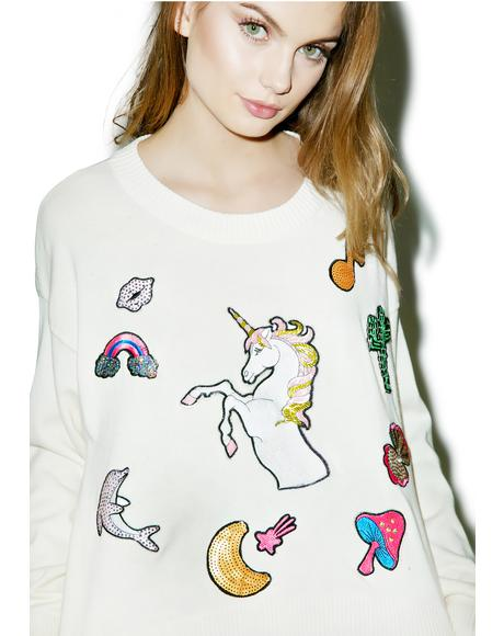 Fairytail Friends Charlotte Sweater