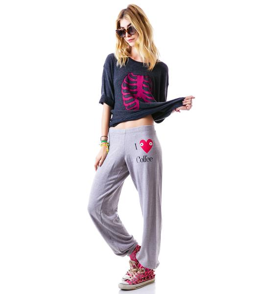 Wildfox Couture Addicted School Girl Sweatpants