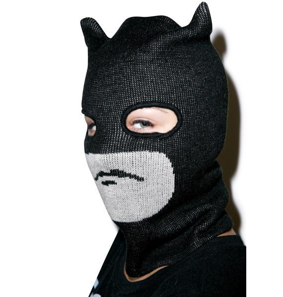 Dark Crusader Knit Mask