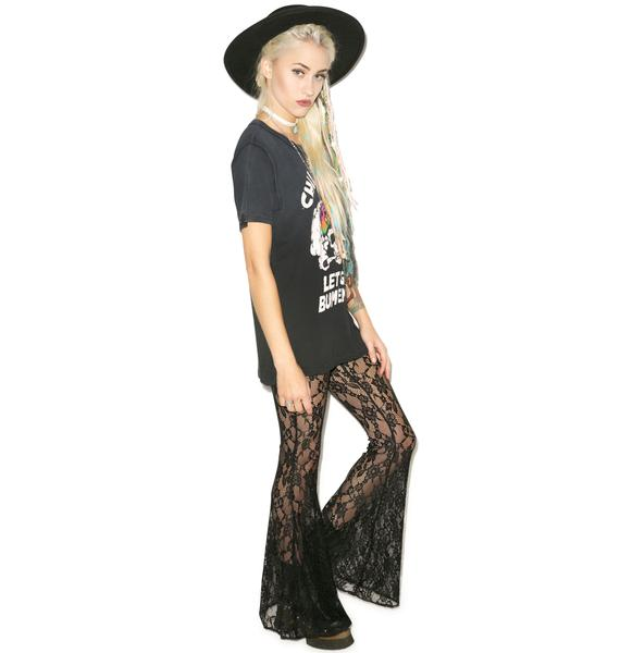 Tiger Mist Free Gypsey Lace Flares