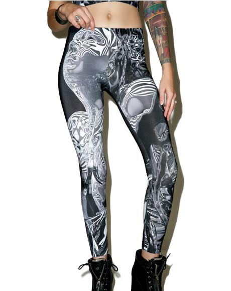 X Pussykrew Leggings