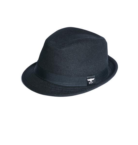 BOY London BOY Fedora Hat